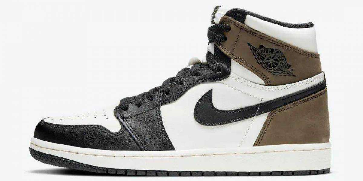 Air Jordan 1 Retro High OG 555088-105 Sail/Dark Mocha-Black-Black released on October 31